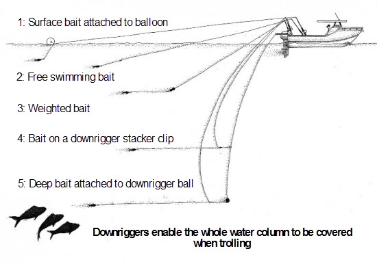 How to set up Downriggers